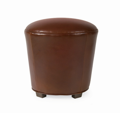 C.R. Laine Furniture - Muffette Leather Stool - L17