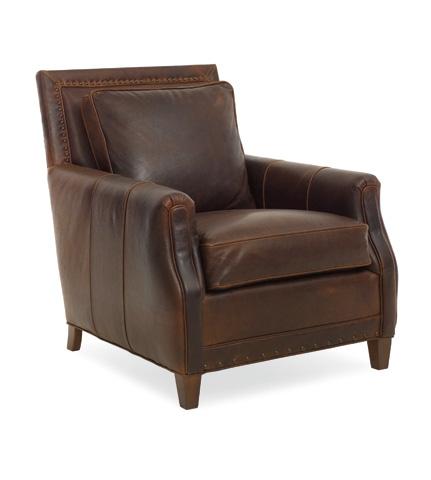C.R. Laine Furniture - Lucas Leather Chair - L2335