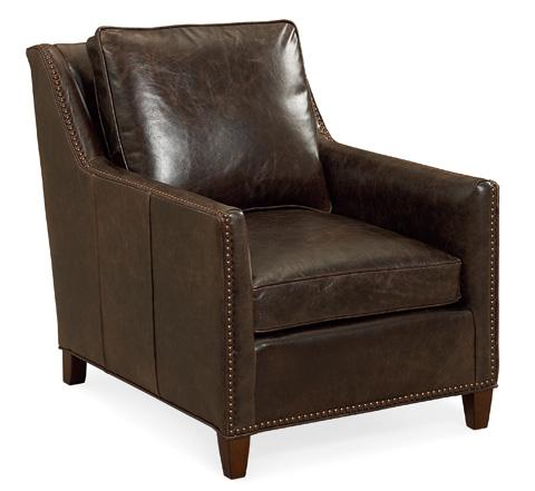 C.R. Laine Furniture - Jeremy Leather Chair - L2465