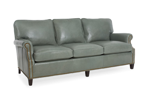 C.R. Laine Furniture - Huntley Leather Sofa - L3150