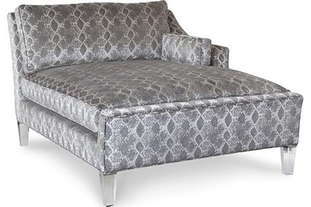 C.R. Laine Furniture - Hampton One Arm Chaise - 8071-09R