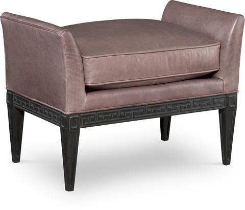 C.R. Laine Furniture - Lena Leather Ottoman - L81-07