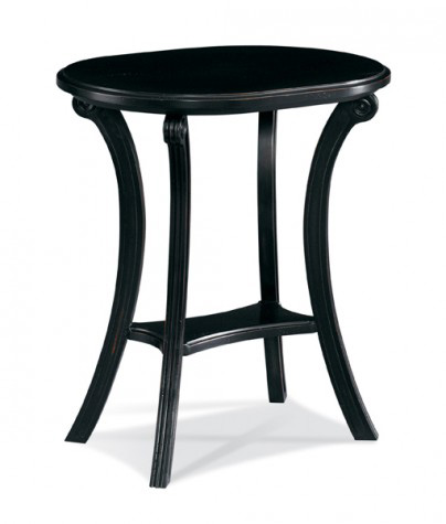CTH-Sherrill Occasional - Antiquities Oval Side Table - 530-912