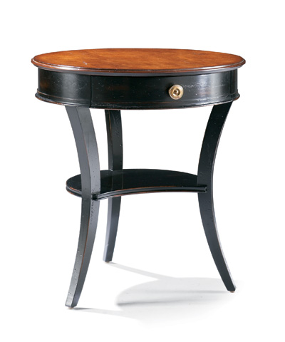 CTH-Sherrill Occasional - Round Lamp Table - 710-935