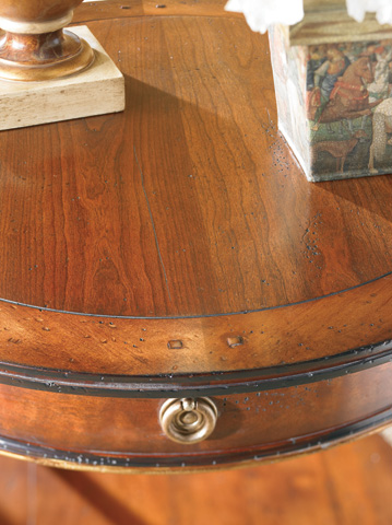CTH-Sherrill Occasional - Round Lamp Table - 730-930