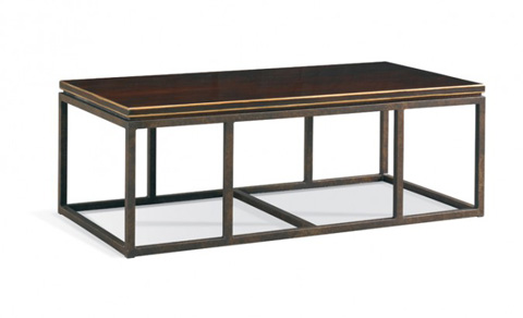 CTH-Sherrill Occasional - Rectangular Cocktail Table - 100-840-00