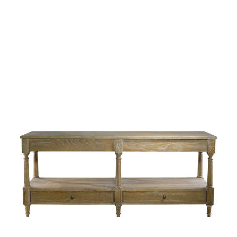 Curations Limited - Large English Console Table - 8833.1113