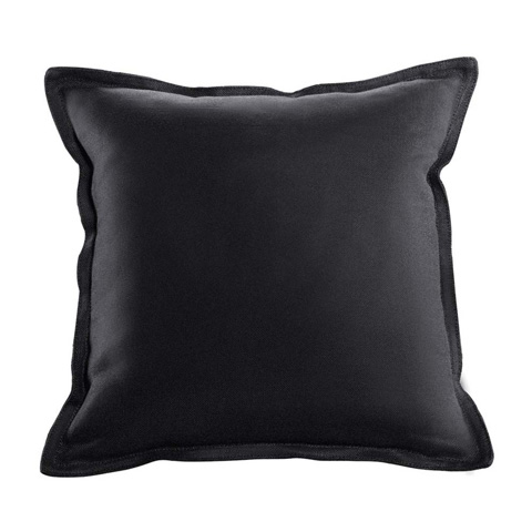 Curations Limited - Slate Velvet Pillows - 1200.0004