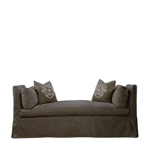 Curations Limited - Brown Walterom Daybed - 7842.1305.A008