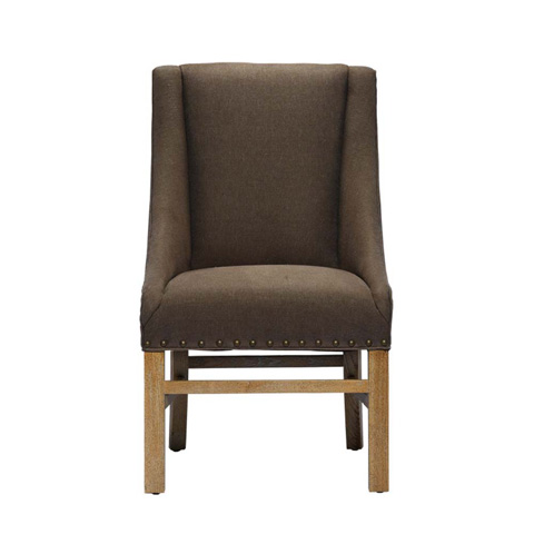 Curations Limited - Brown New Trestle Chair - 8826.0002.A008