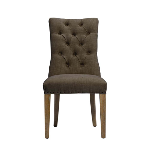 Curations Limited - Brown Albert Side Chair - 8826.1005.A008