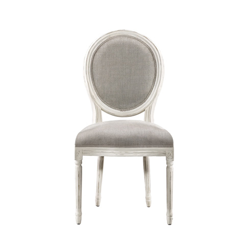 Curations Limited - Vintage Louis White Side Chair - 8827.2004