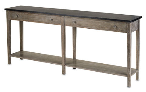 Currey & Company - Large Westrow Console - 3036