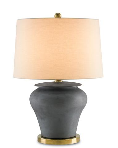 Currey & Company - Black Winkworth Table Lamp - 6249
