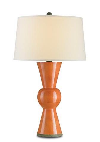 Currey & Company - Orange Upbeat Table Lamp - 6351