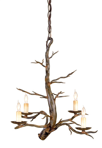 Currey & Company - Treetop Chandelier - 9307