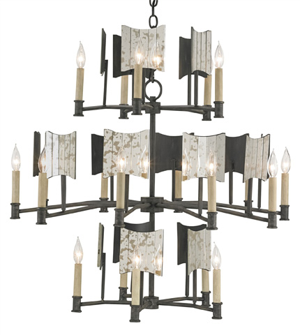 Currey & Company - Catesby Chandelier - 9319