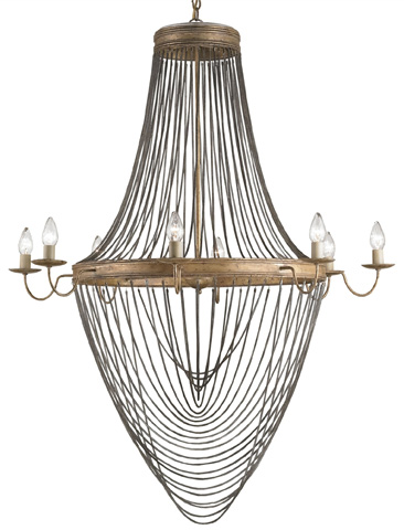 Currey & Company - Large Lucien Chandelier - 9412