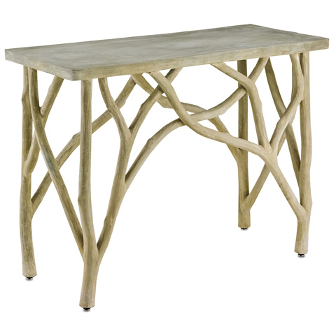 Currey & Company - Creekside Console Table - 2037