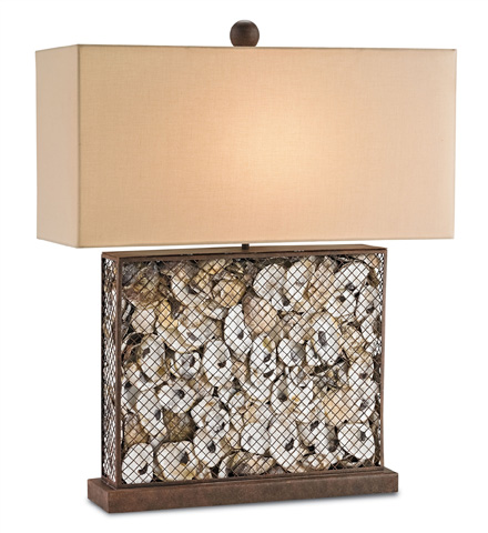 Currey & Company - Oyster Bay Table Lamp - 6835
