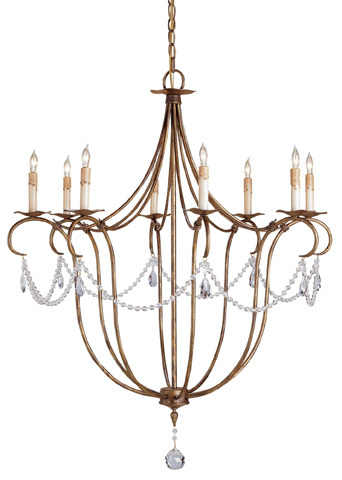 Currey & Company - Crystal Light Chandelier - 9881