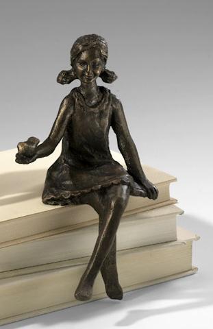 Cyan Designs - Girl Shelf Figurine - 03042
