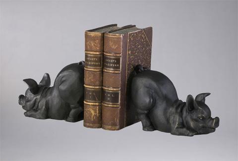 Cyan Designs - Piggy Bookends - 01218