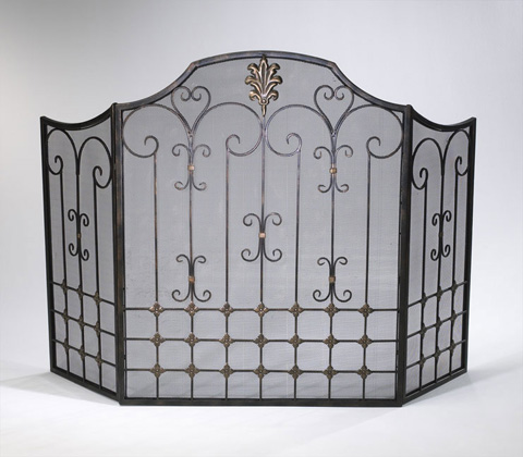 Cyan Designs - Bronze Fire Screen - 01349