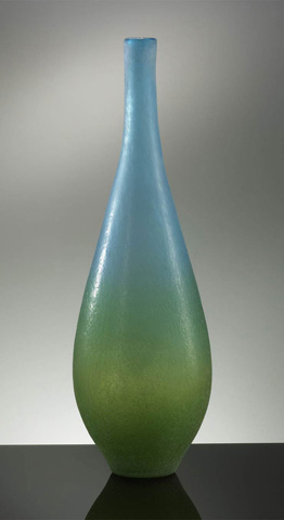 Cyan Designs - Large Vizio Blue and Green Vase - 01665