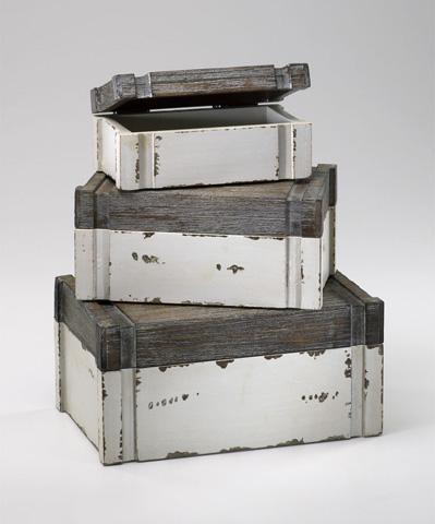 Cyan Designs - Alder Boxes - 02471