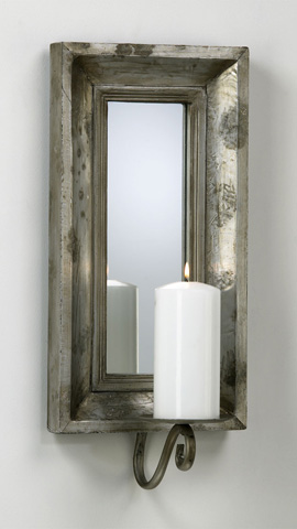 Cyan Designs - Abelle Candle Mirror Sconce - 02701