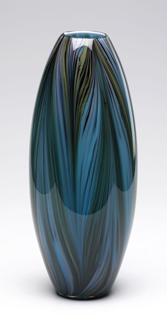 Cyan Designs - Peacock Feather Vase - 02920