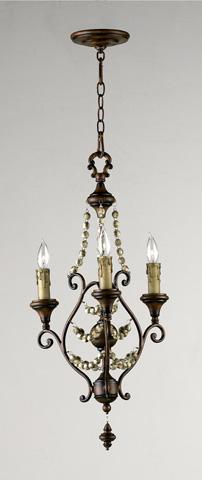 Cyan Designs - Meriel Three Light Chandelier - 03010