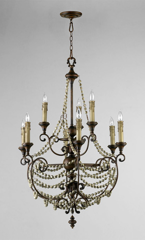 Cyan Designs - Meriel Nine Light Chandelier - 03012