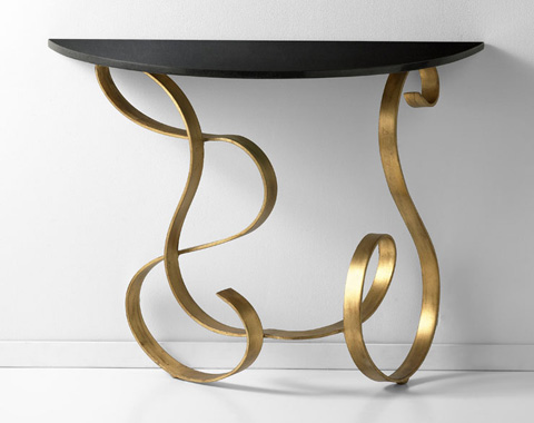 Cyan Designs - Ribbon Side Table - 03077