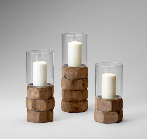 Cyan Designs - Large Hex Nut Candleholder - 04741