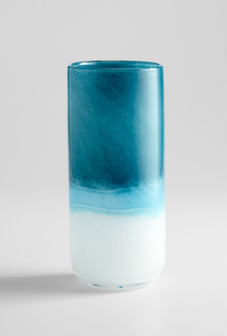 Cyan Designs - Medium Turquoise Cloud Vase - 05876