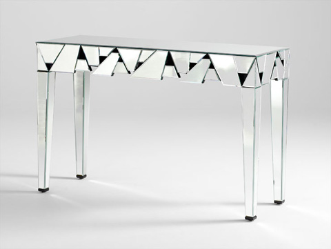 Cyan Designs - Shattered Obsession Console Table - 05968