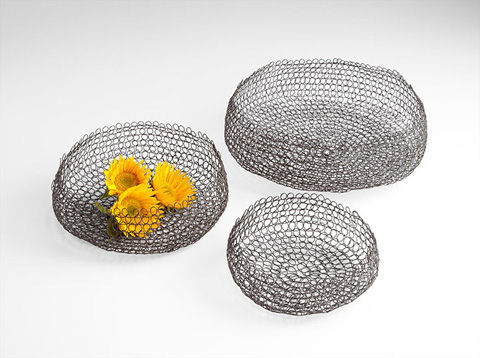 Cyan Designs - Columbus Weave Basket - 06206