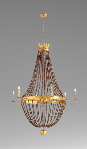 Cyan Designs - Alessia Six Light Chandelier - 06338