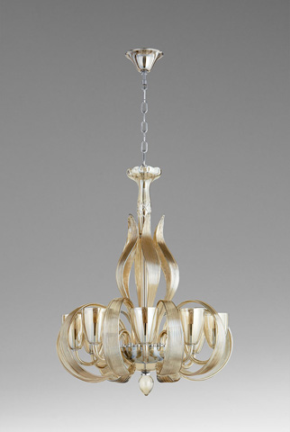 Cyan Designs - Lucille Eight Light Chandelier - 06436