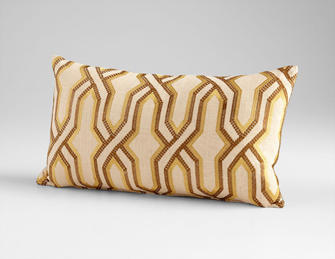 Cyan Designs - Twist And Turn Pillow - 06514