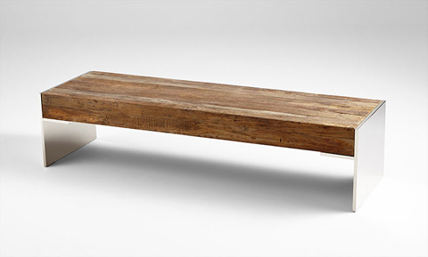 Cyan Designs - Silverton Coffee Table - 06553