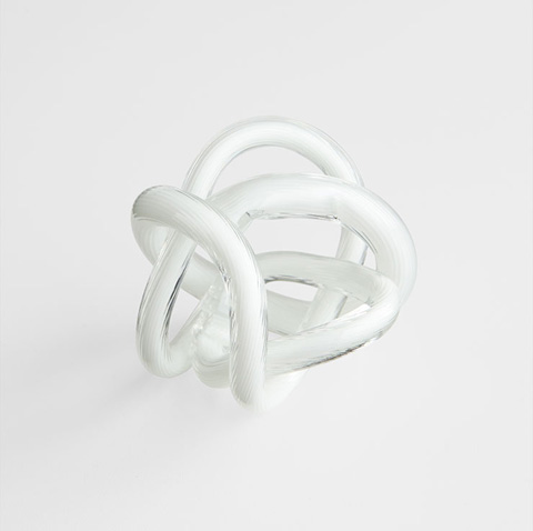 Cyan Designs - Small Interlace Sculpture - 06722