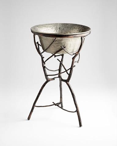 Cyan Designs - Silver Sprig Planter - 06954