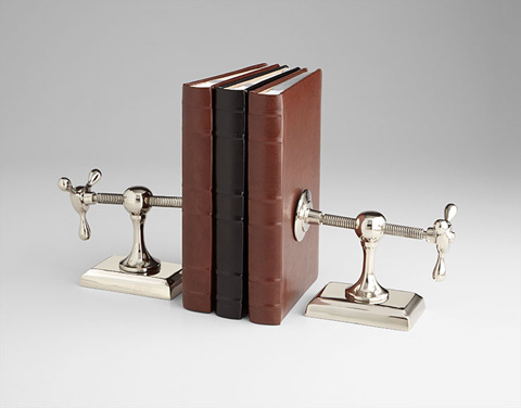 Cyan Designs - Hot and Cold Bookend - 07034