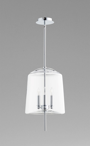 Cyan Designs - Lustrous Three Light Pendant - 07591