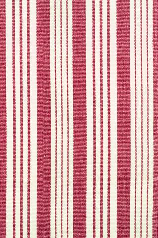 Dash & Albert Rug Company - Birmingham Red Cotton Woven 8x10 Rug - RDA049-810