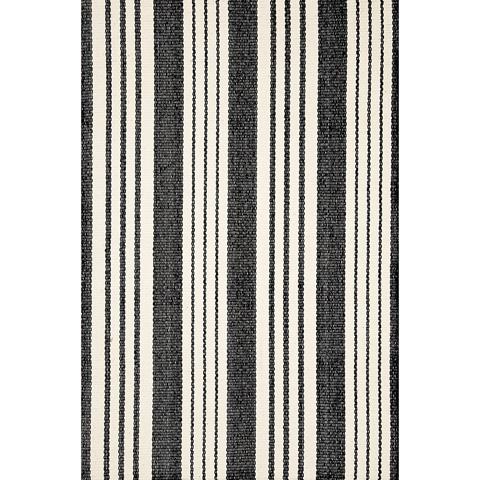 Dash & Albert Rug Company - Birmingham Black Cotton Woven 8x10 Rug - RDA166-810