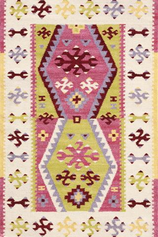 Dash & Albert Rug Company - Bohemian Wool Woven 8x10 Rug - RDA236-810